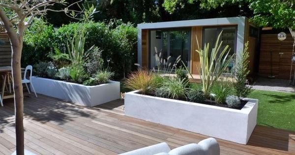 Am nager son jardin et terrasse 52 id es pour votre oasis design garten et fils for Amenager son jardin d agrement