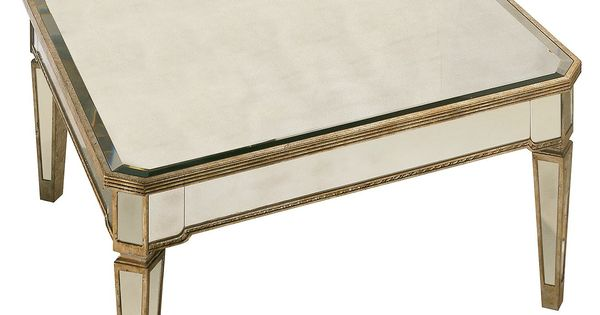 Marais Table Mirrored Square Coffee Table Table Mirror Square Coffee Tables And Table Furniture