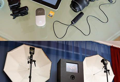 DIY Photo Booth With A DSLR And IPad