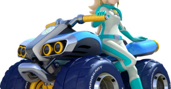 Rosalina - Mario Kart 8 - YESSSSS. Mario Kart 8 artwork, and