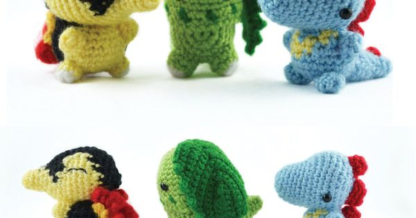 Dragonair Amigurumi Pattern : crochet pokemon amigurumi Pokemon Pinterest ...