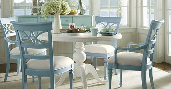 coastal style dining room furniture beach style coastalliving dining beach deco pinterest. Black Bedroom Furniture Sets. Home Design Ideas