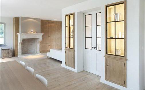 Bourgondisch kruis rustieke bouwmaterialen realisaties woonkamer id es d co pinterest - Deco van woonkamer eetkamer ...
