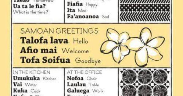 Samoan Language Week Bits Amp Bobs Pinterest See Best
