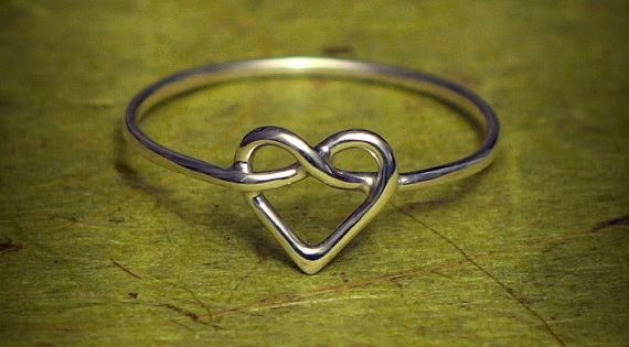Infinity heart ring. Promis ring!