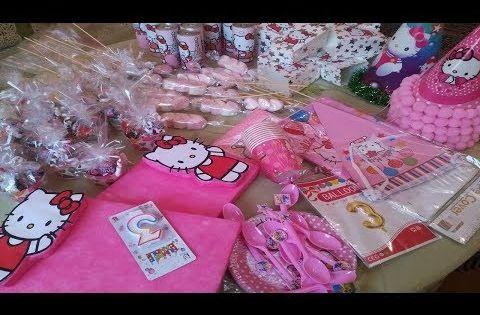 أفكار لتحضير و تزيين طاولة عيد ميلاد جميلة و اقتصادية للاطفال Youtube Gift Wrapping Gifts Deco