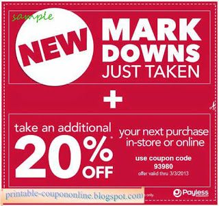 Free Printable Payless Shoes Coupons Shoes Coupon Free Printable Coupons Promo Codes Online