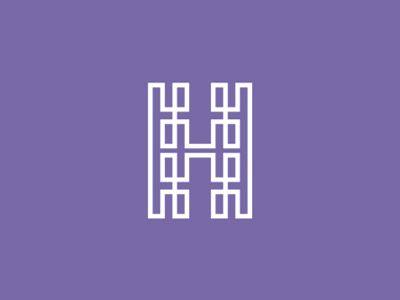 Double H Hh Monogram Logo Design Symbol Monogram Logo Design Monogram Logo Logo Design