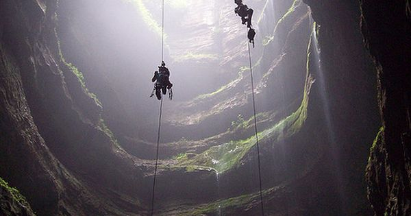 cave diving- on the bucket list!