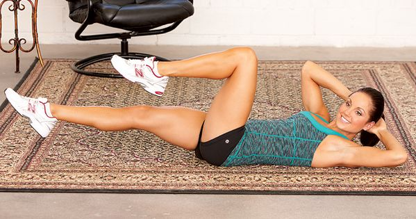 No gym membership required! Six moves you can do in your living