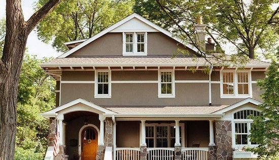 Stone Lion Sherwin Williams Paint On Houses Craftsman