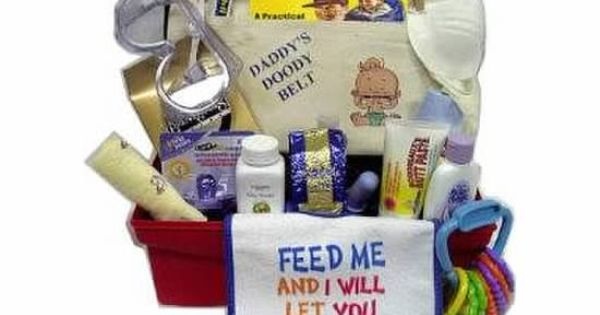 Baby Gifts For Parents Who Have Everything : New dad gift basket destination st grandchild