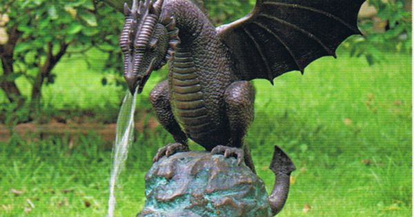 Bronze Dragon Statue