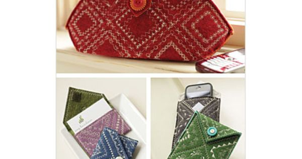 (Sewing Pattern) Cleverly Stitched Cases by Indygo Junction: Pattern. Make these with