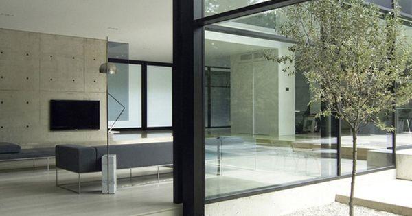 44 belvedere residence in oakville ontario this modern for Interior design house oakville