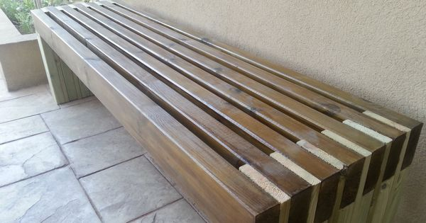 My New And Amazing Outdoor Bench Do It Yourself Home