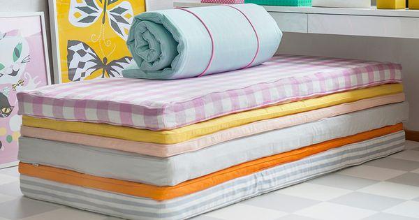 super idee bunte berz ge f r matratzen und schaumstoffmatratzen bemz kinderzimmer. Black Bedroom Furniture Sets. Home Design Ideas