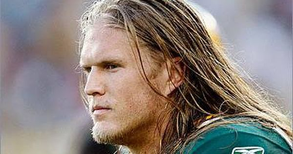 Clay Matthews III. Plays defense for the Green Bay Packers. Smoking. Hot.