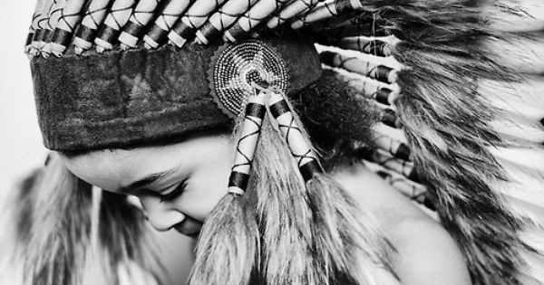 Cherokee | feathers | native | american indian | black | child