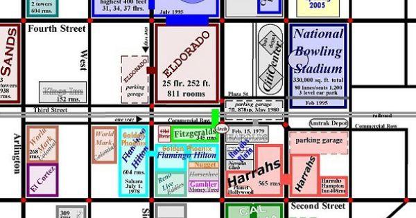 Casino map downtown reno