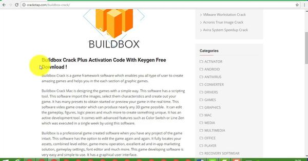 buildbox download full with crack