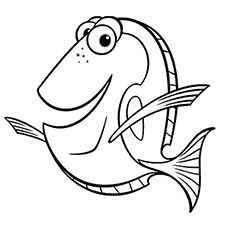 40 Finding Nemo Coloring Pages Free Printables Nemo Coloring Pages Finding Nemo Coloring Pages Fish Coloring Page