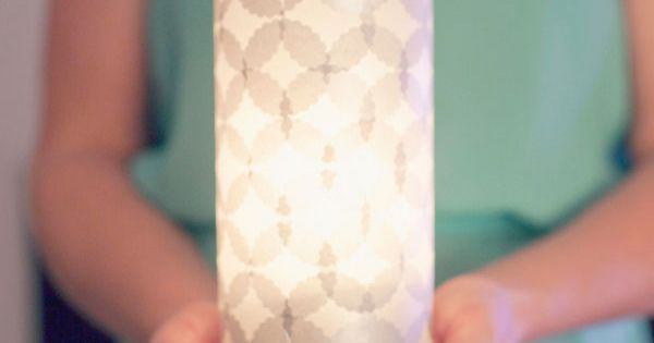 DIY candle lanterns