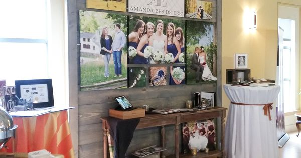 An easy to build and easy to store bridal show wall made