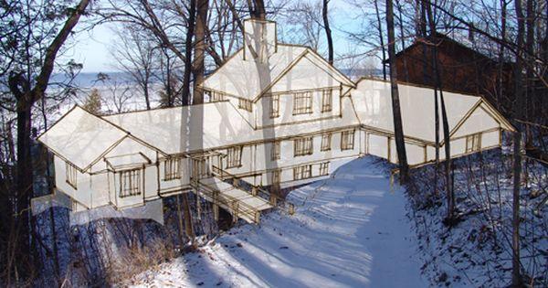 Steep slope home plans google search lake house for Lake house plans for steep lots