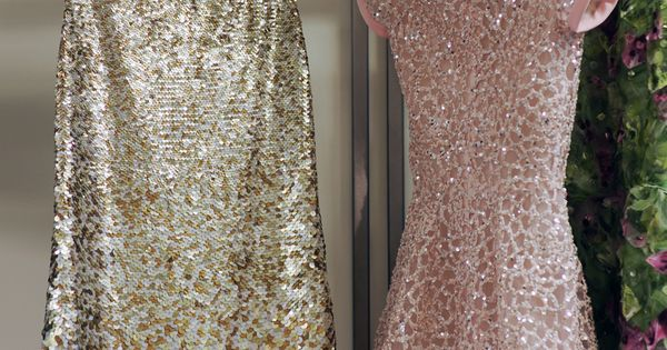 Sparkly dress obsession strikes again// OSCAR DE LA RENTA RESORT 2013 -