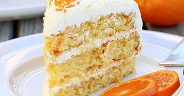Easy Pineapple Orange Layer Cake Recipe (uses a yellow cake mix)