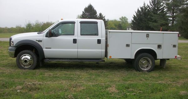 2007 ford f 450 4wd crew cab diesel utility truck 15 trucks for sale pinterest. Black Bedroom Furniture Sets. Home Design Ideas
