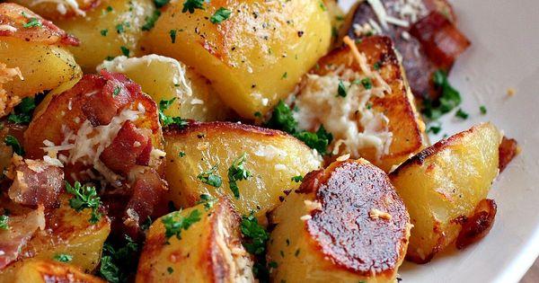 Oven Roasted Potatoes recipe potato sidedish
