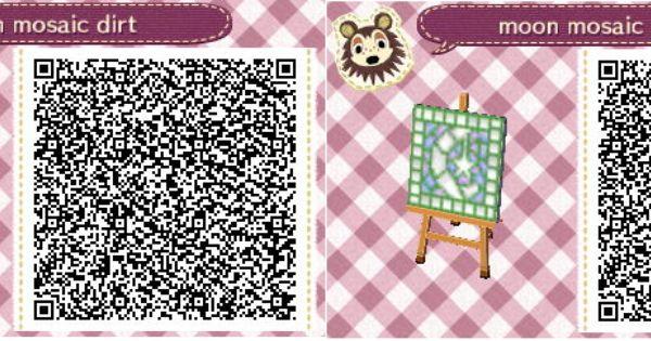 acnl qr code moon mosaic video games pinterest qr codes und mosaik. Black Bedroom Furniture Sets. Home Design Ideas