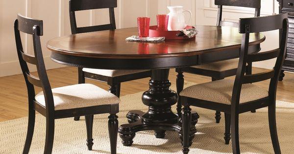 Two Tone Dining Table. Sturbridge Oval Dining Set - Liberty Furniture ...