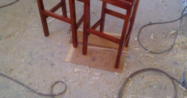 Banquillos para vitrina bar quieres ver m s herramientas - Foros de carpinteria ...