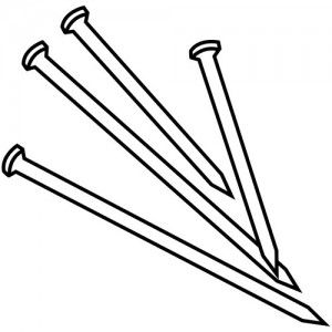 carpenter tools coloring pages - Clip Art Library | 300x300