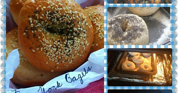 Homemade New York style bagels, =] I combined the methods from 2 ...