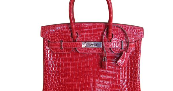 Hermes Braise Crocodile 30cm Birkin Bag, Palladium Hardware - The Best in