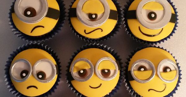 Minion cup cakes. My sister loves these little guys! so doing this