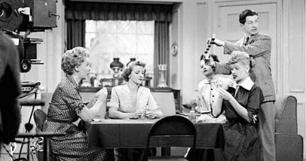 On The Set Of I Love Lucy I Love Lucy Pinterest Best