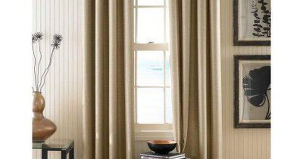 Curtainworks Monterey Curtain Panel Linen 1q80040ale Curtains