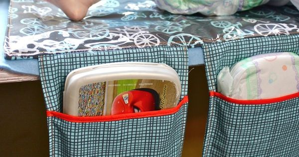tutorial: make an all-in-one baby changing mat that folds up into a