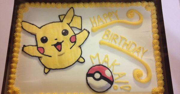 Pokemon For Cake