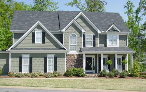 Augusta 5729 4 Bedrooms And 3 5 Baths The House Designers Shingle House Plans House Plans Southern House Plans