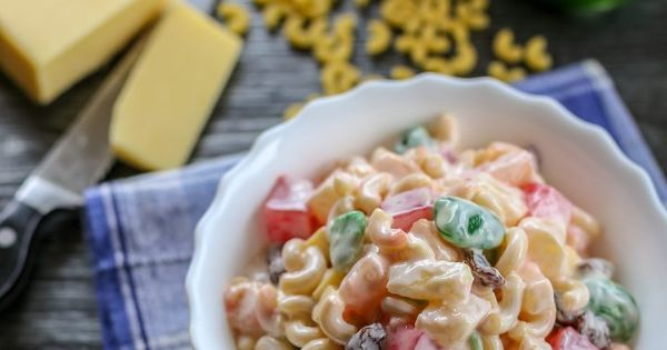 Filipino Sweet Macaroni Salad Ang Sarap Recipe Easy Salad Recipes Macaroni Salad Filipino Macaroni Salad