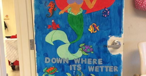 Quot The Little Mermaid Quot Classroom Door For An Under The Sea