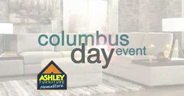 Columbus Day Event Television Commercial For Ashley Furniture Homestore Richmond Created By Toma Advertising Ashley Furniture Tv Spot Television Commercial