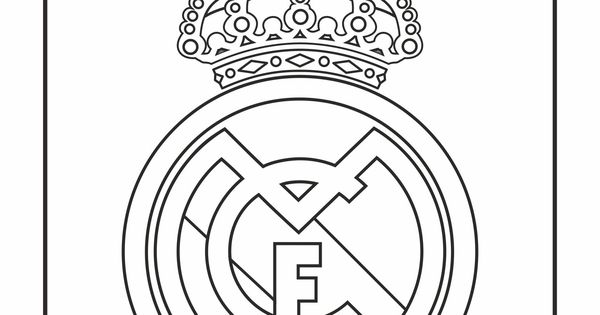 Others / Real Madrid Logo / Coloring