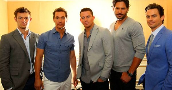 """Magic Mike"" cast. I don't think I could make it through that"